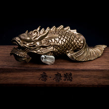 Load image into Gallery viewer, The Dragon Fish Statue