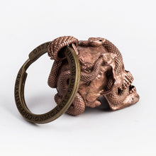 Load image into Gallery viewer, Skull with Vipers (Copper)