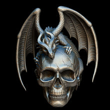 Load image into Gallery viewer, Skull with Dragon - COMING SOON!