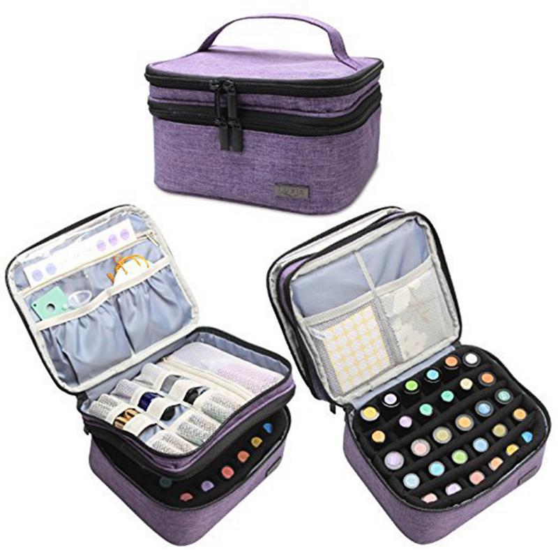 30 Bottles Essential Oils Storage Case