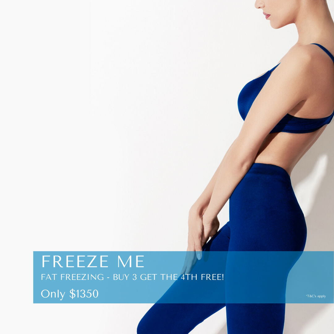 Freeze Me winter special - buy 3 fat freezing applications and get the 4th free