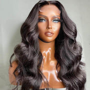 body wave closure wig