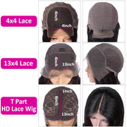 4/27 Curly Highlight Lace Front Human Hair Wigs Pre Plucked Color Wig