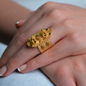 Traditional pattern Ring by Narinari