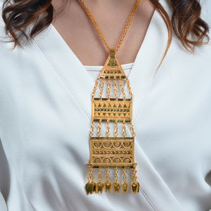 Traditional Pyramid Necklace by Narinari