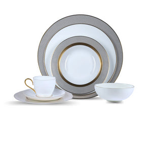 Grand Collection: Bone china dinning set for 6