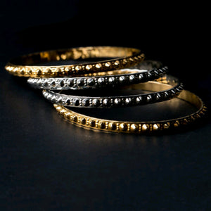 Tradition-inspired Bangle by Kidani