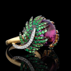 Statement Ring from the Palm Collection by Deema