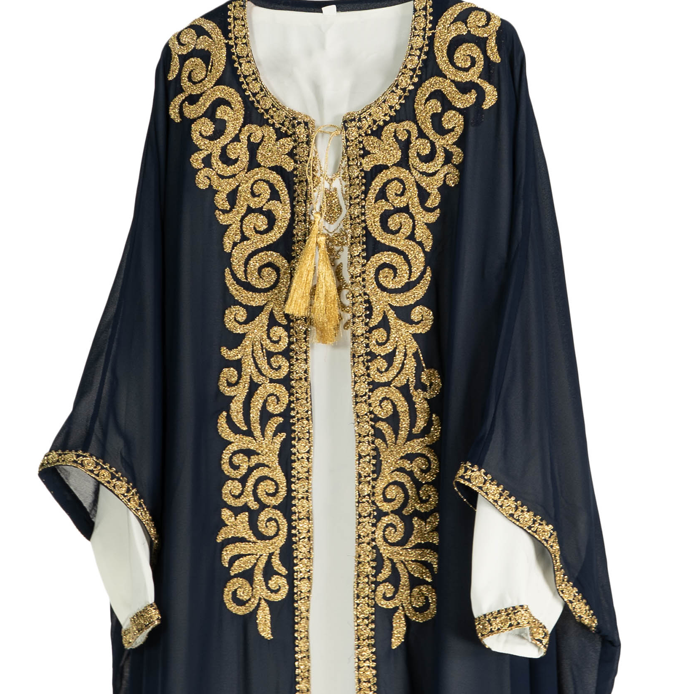 Royal Blue Arabic Dress