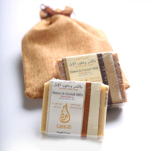 Body Soap bar with Dates and Camel Milk by Tamrah