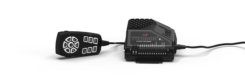 Typhoon 100W Siren amp and Light Controller