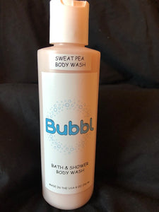 Sweet Pea Liquid Body Wash 8 oz
