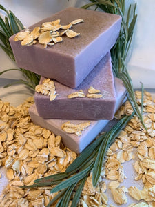 Oatmeal Lavender Soap 4 oz