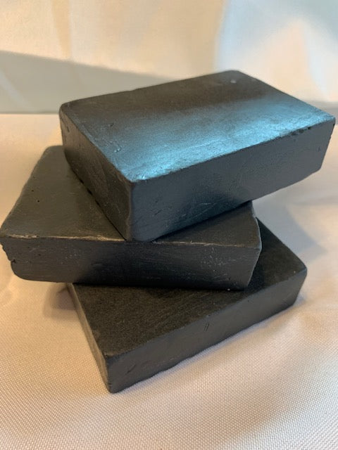Charcoal Soap 4 oz (Vegan)