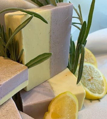 Oatmeal Lavender & Lemon Soap 6 oz- item being discontinued