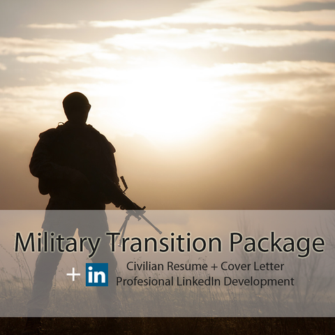 military transition cover letter