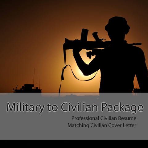 military to civilian cover letter