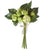 Green Real Touch Cabbage Rose Bouquet