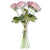 Pink Real Touch Full Bloom Rose Bouquet