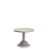 Small Glass Marble Cake Stand