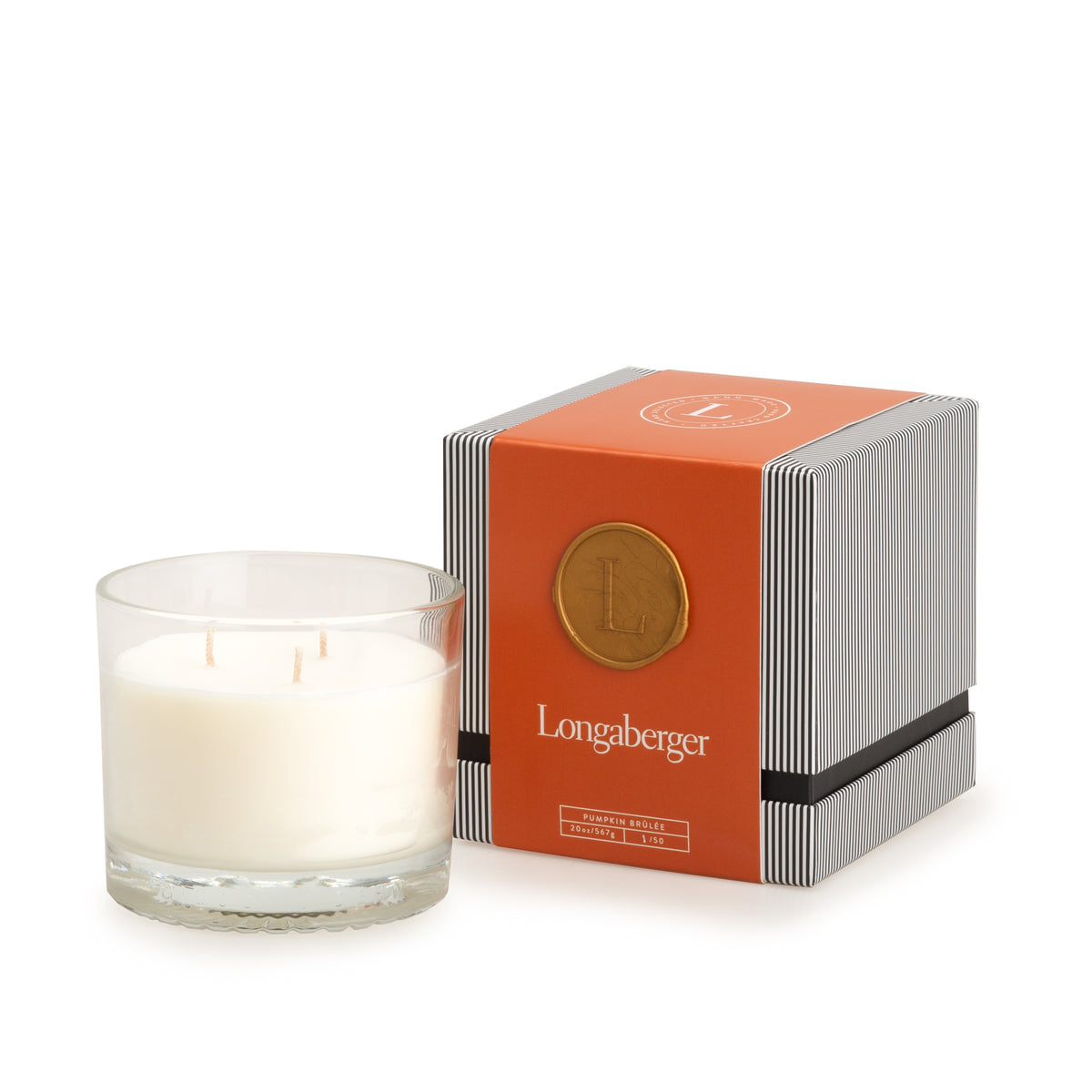 Pumpkin Brûlée Three Wick Candle