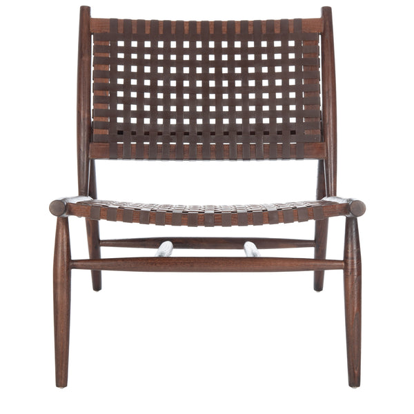 Brown Soleil Accent Chair