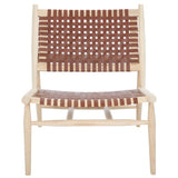 Cognac & Natural Soleil Accent Chair