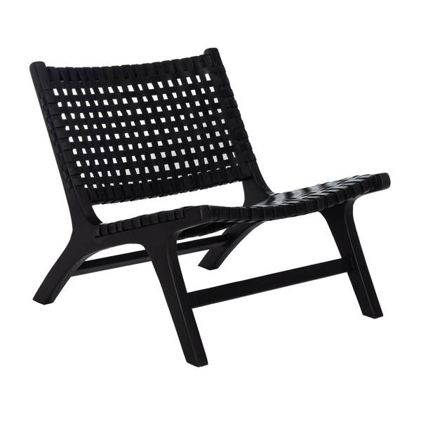 Black Luna Accent Chair