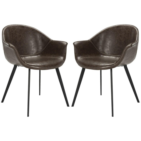 Brown & Black Dublin Chair Set