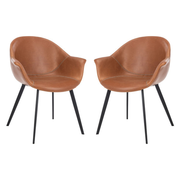 Cognac & Black Dublin Chair Set