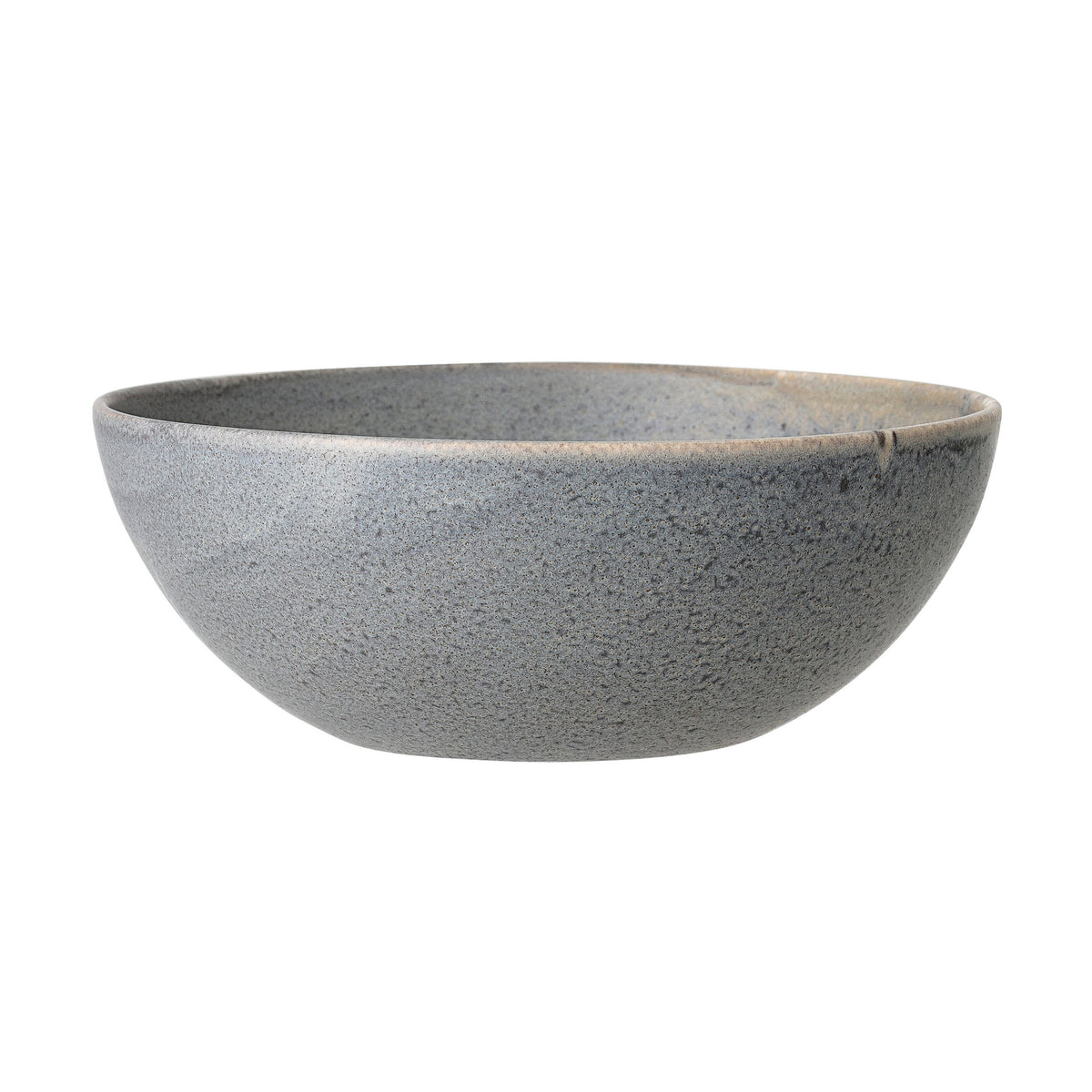 Grey Matte Stoneware Bowl