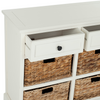 Distressed Cream Herman Storage Unit