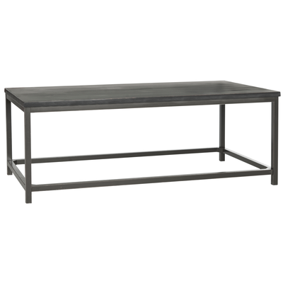 Distressed Black Alec Coffee Table