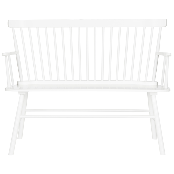 White Addison Loveseat