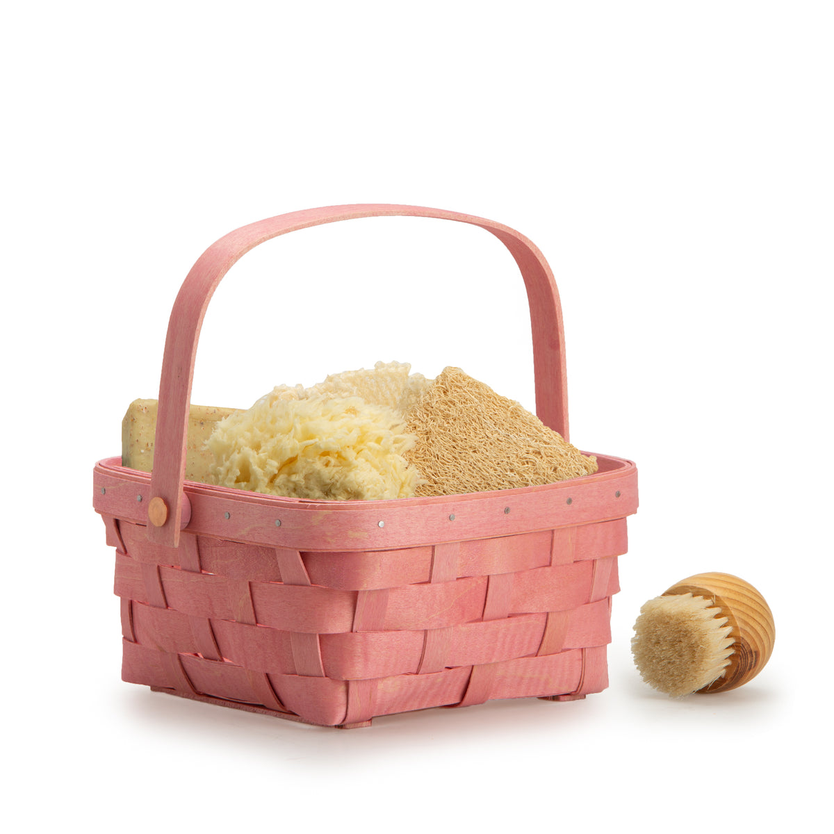Pink Short Handled Signature Basket