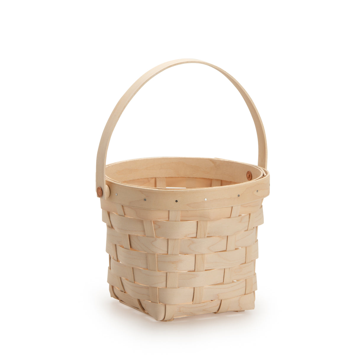 White Handled Signature Basket