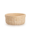 White Round Signature Basket