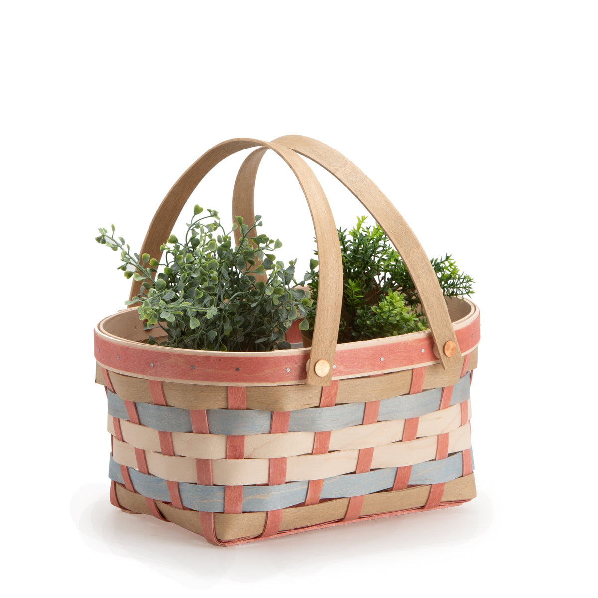 Sun-Kissed Oval Spring Basket