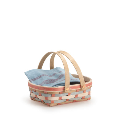 Sun-Kissed Oval Muffin Basket