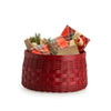 Bold Red Catch All Basket