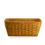 Warm Brown 1973 Small Laundry Basket Set with Free Protector