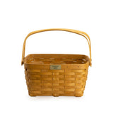 Warm Brown 1973 Cake Basket Set