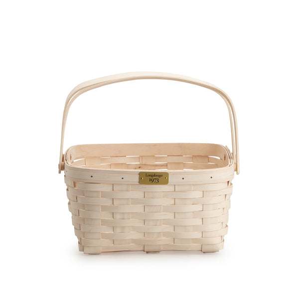 White 1973 Cake Basket Set with Free Protector