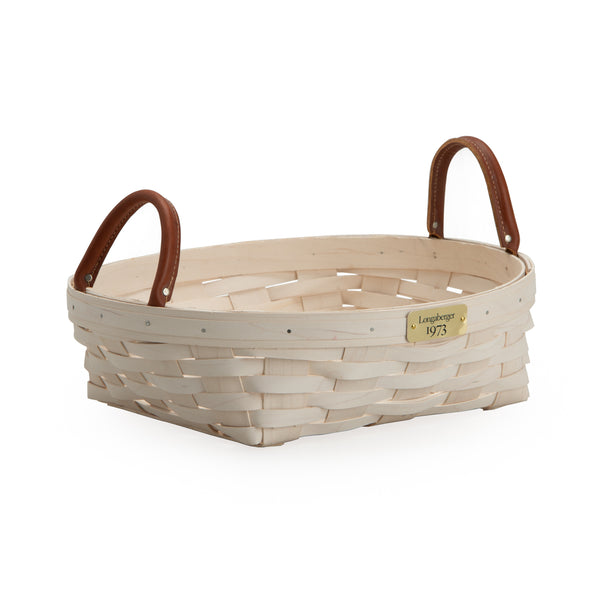 White 1973 Pie Basket Set with Free Protector