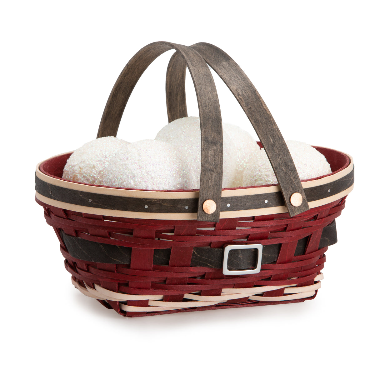 Santa Belly Oval Basket Set