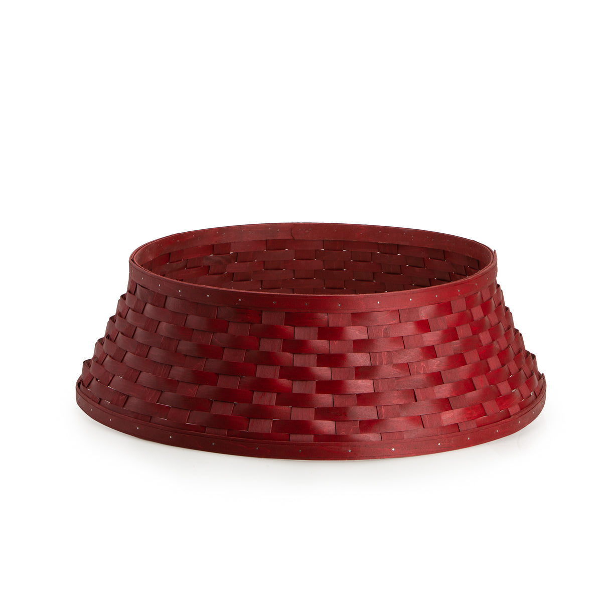 Bold Red Tree Basket Sleeve