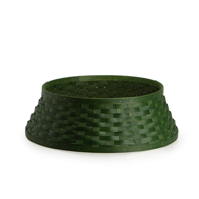 Bold Green Tree Basket Sleeve