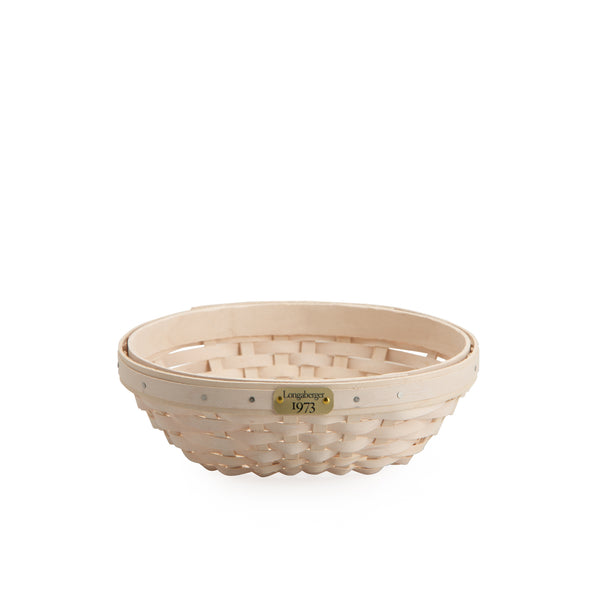 White 1973 Bowl Basket Set with Free Protector