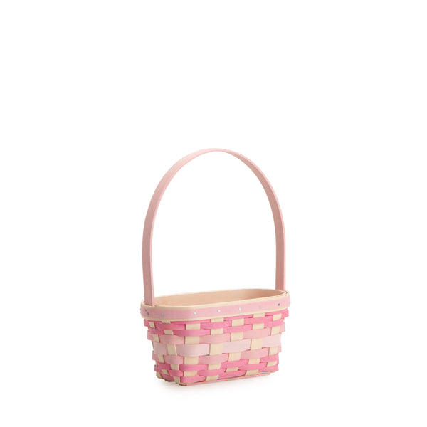 Small Pink Easter Basket Set