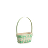 Small Jadeite Easter Basket Set with Free Protector